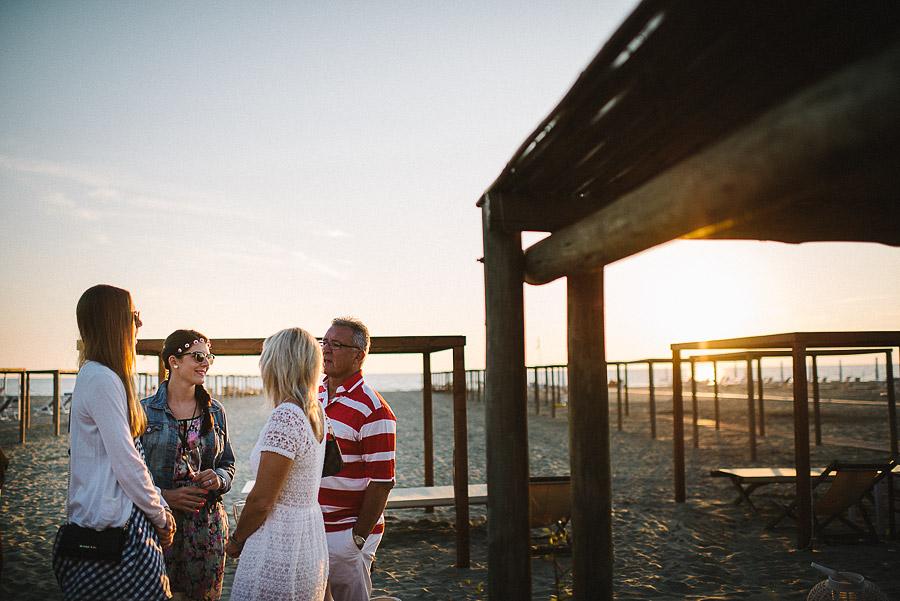 Matrimonio in spiaggia a Viareggio