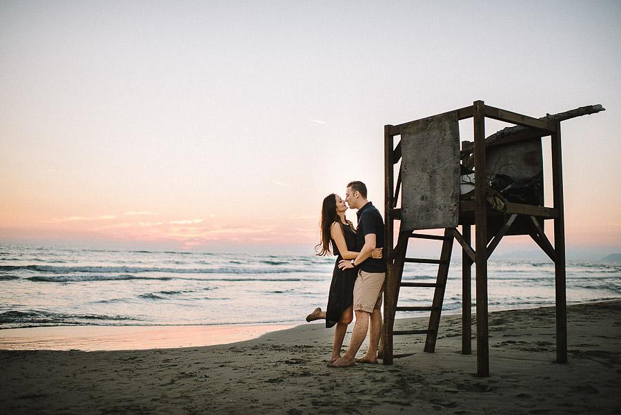 foto fidanzati in spiaggia