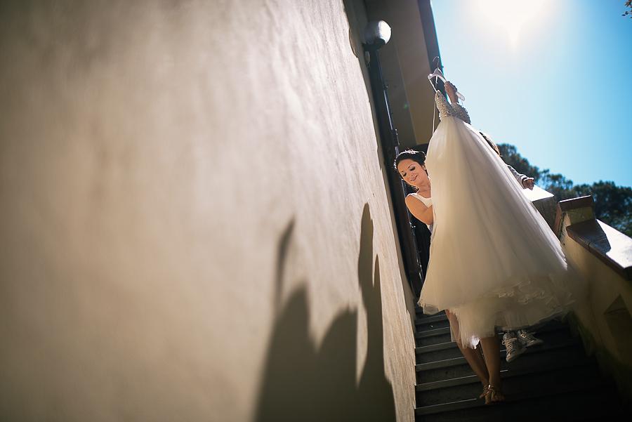 vestito sposa toscana