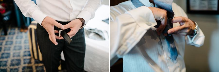 dettagli vestizione sposo