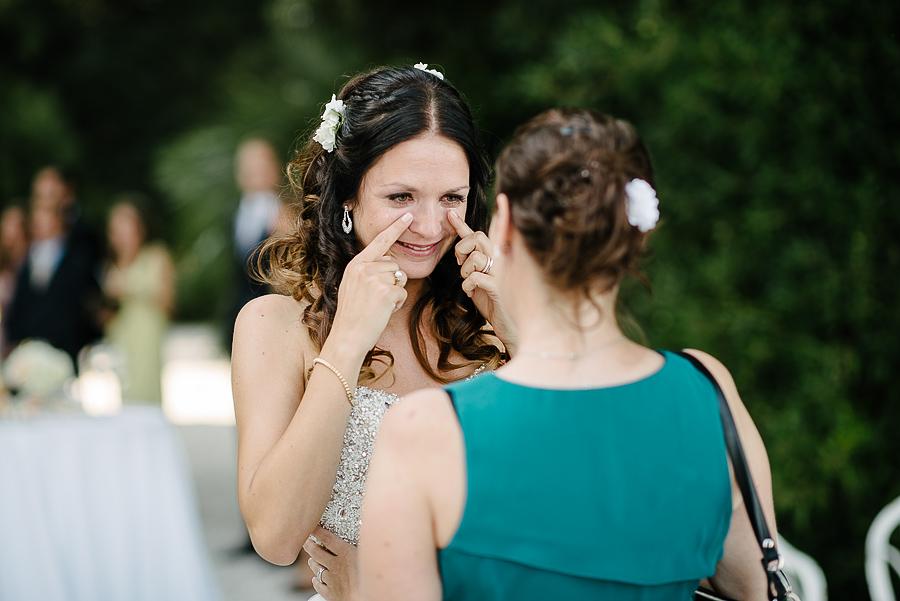 sposa emozioni matrimonio toscana