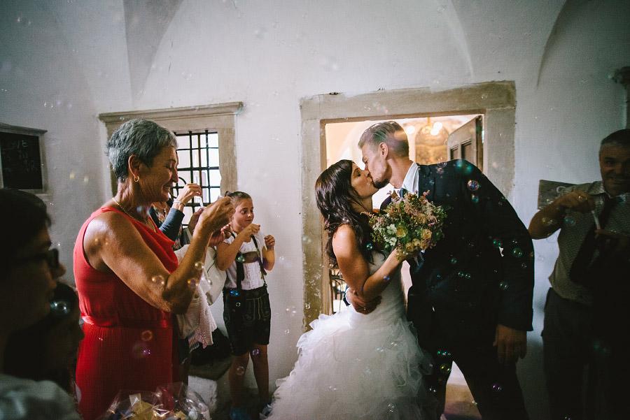 fotografia di matrimonio montagna