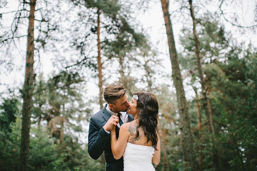 foto matrimonio nel bosco