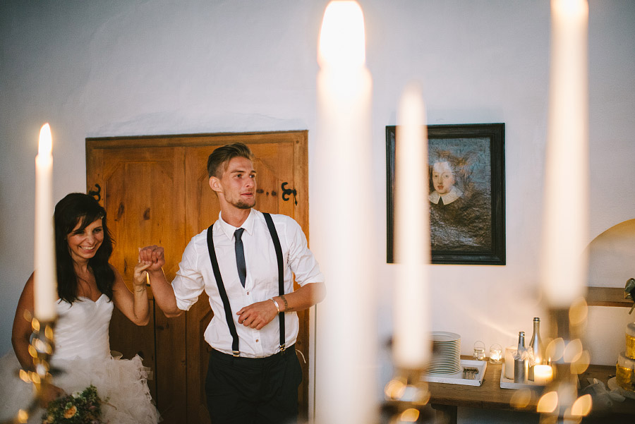 matrimonio a luce di candela