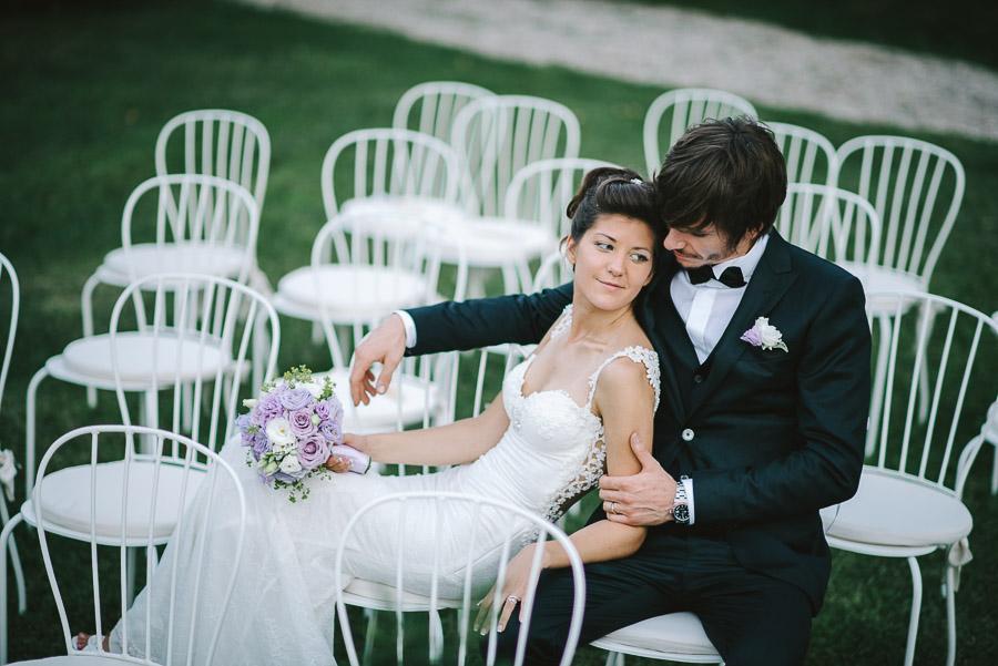 sedie matrimonio all aperto