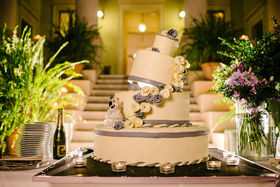 torta di matrimonio elegante