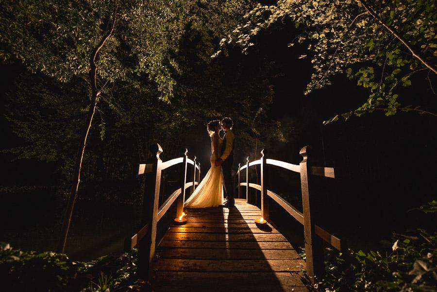 foto di matrimonio alla sera