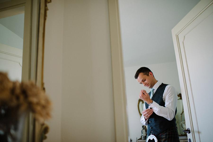 foto matrimonio scozzese
