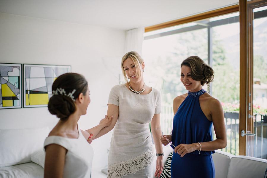 testimoni sposa