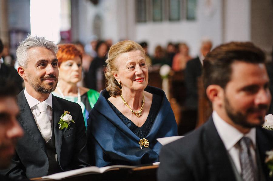 parenti in chiesa matrimonio