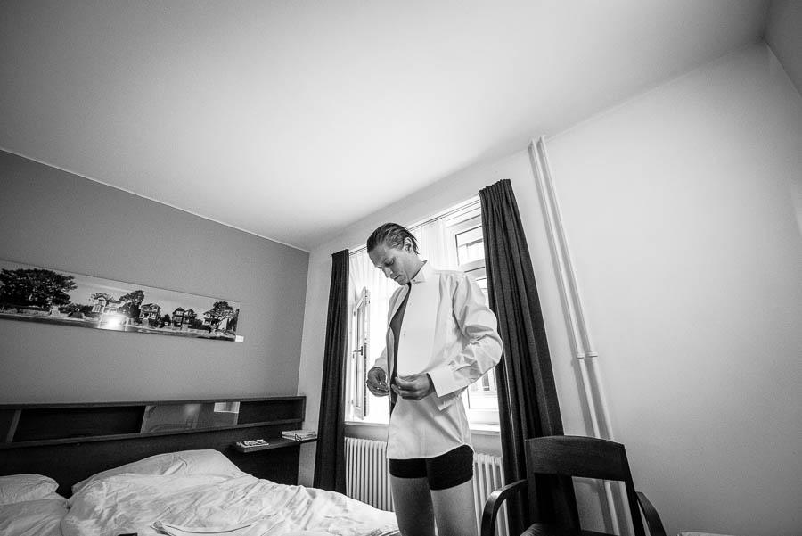 Bräutigam sich bereit Zürich