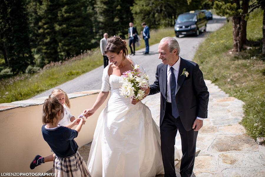 wedding in St Moritz