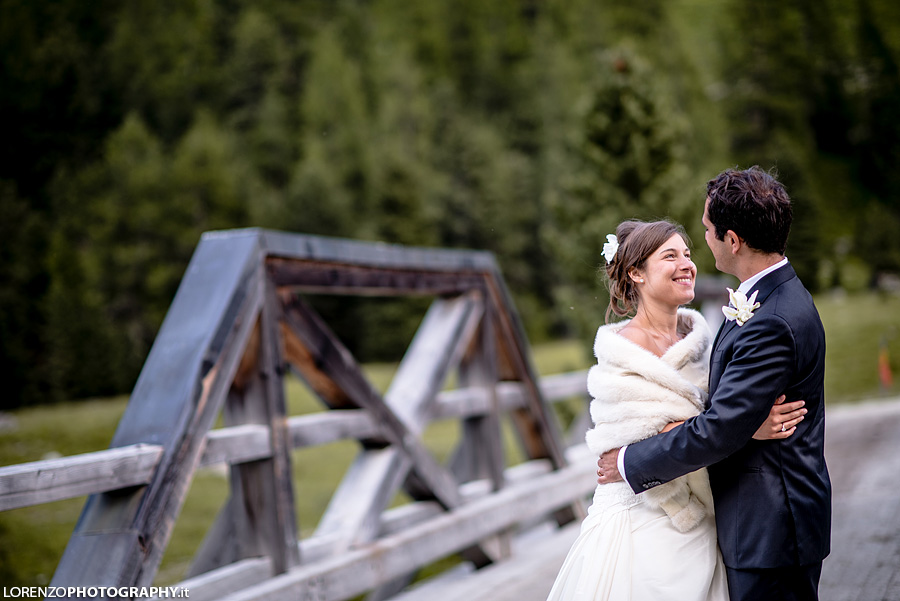 Getting married in Switzerland alps