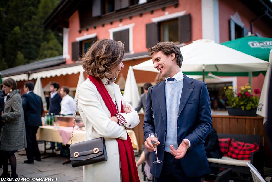 matrimonio sulle Alpi Svizzere