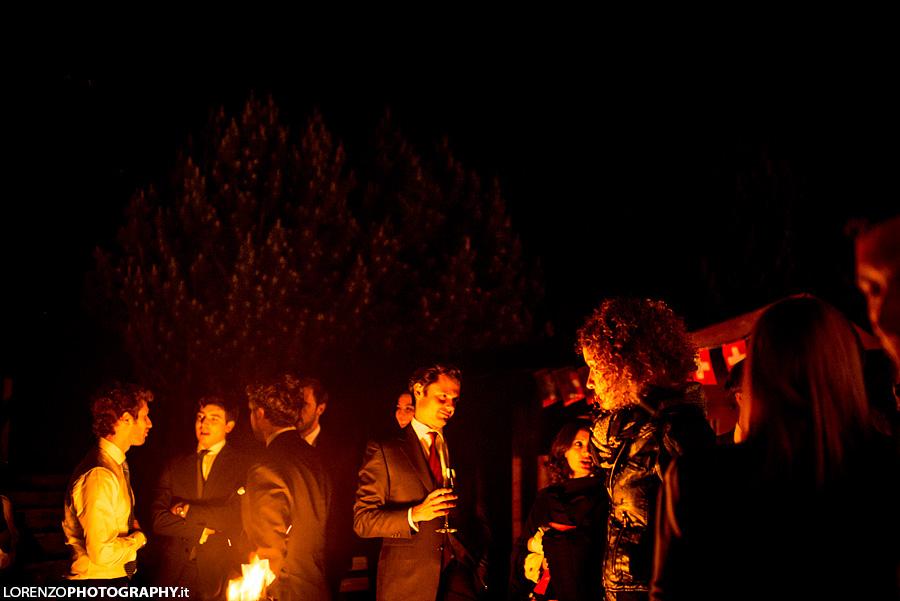 bonfire wedding