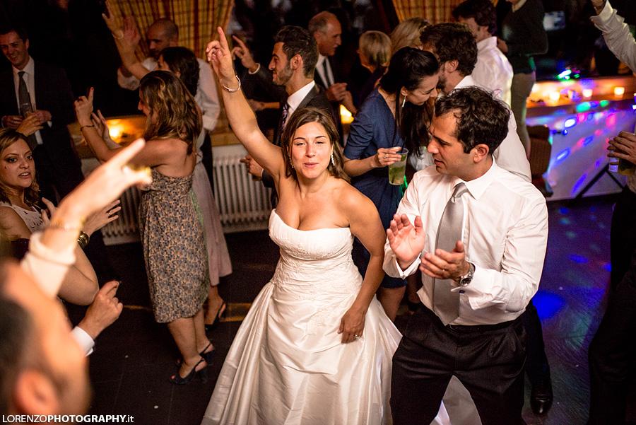 dance at wedding swiss