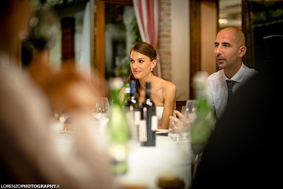 wedding dinner italy