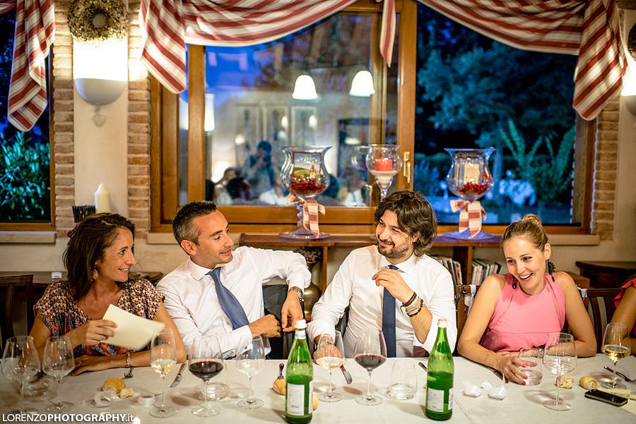 cena matrimonio italia