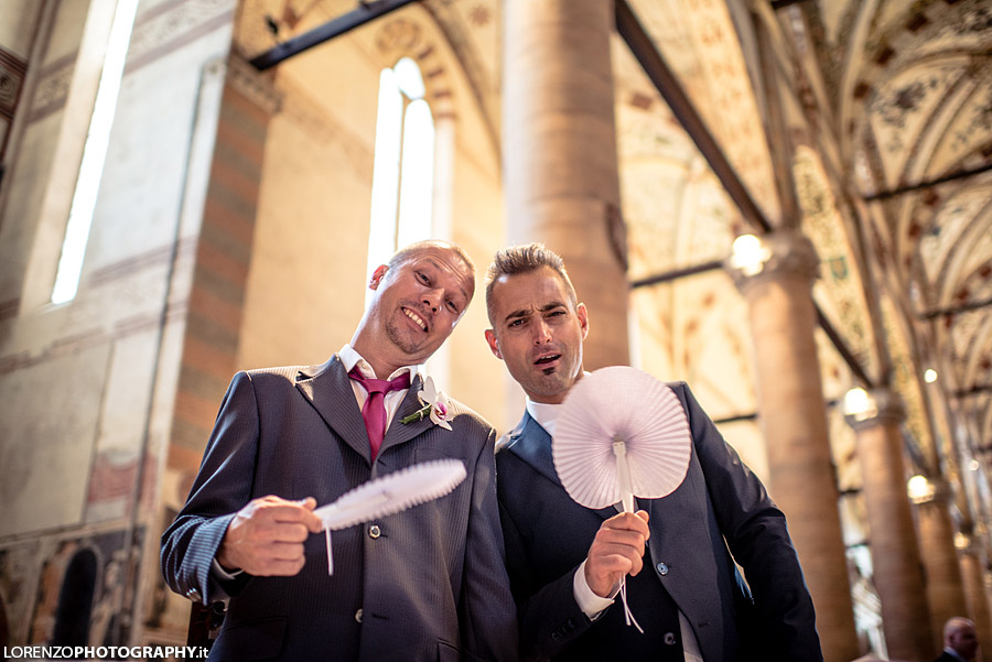 funny wedding photographer verona