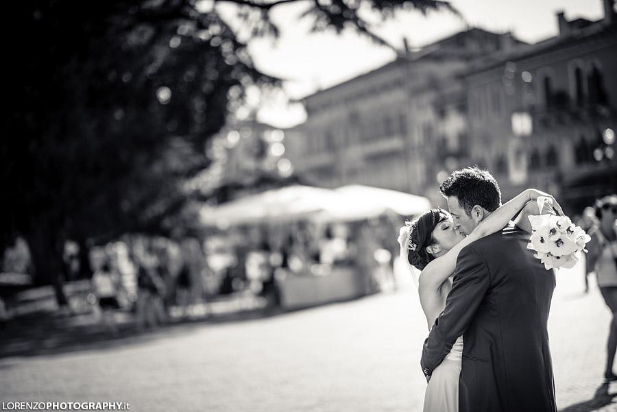fotografo matrimonio Arena Verona