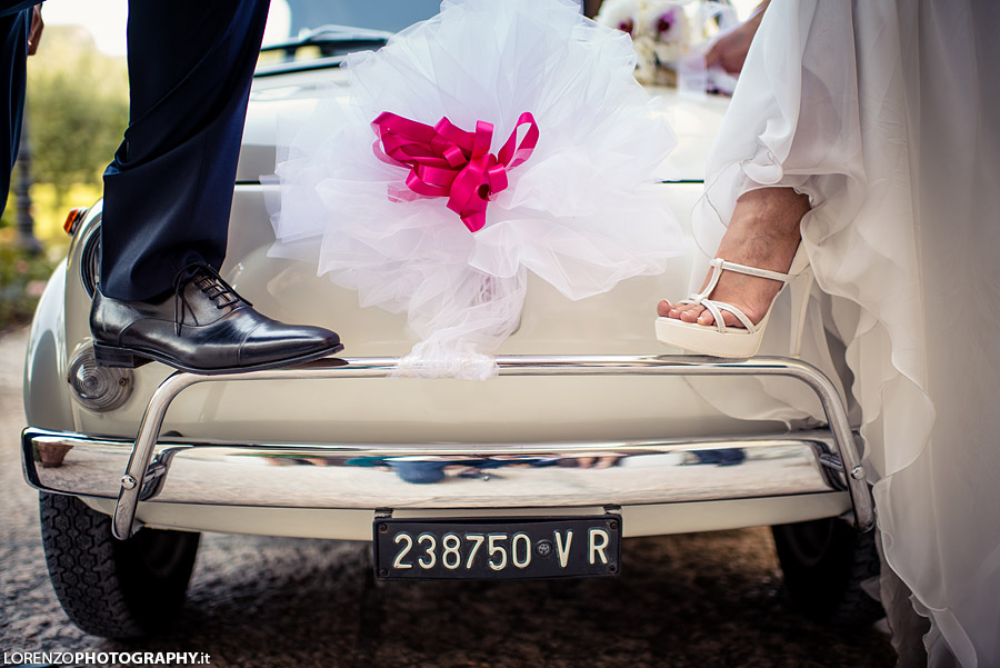 wedding car verona
