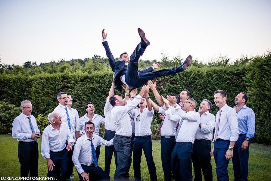 lancio dello sposo verona