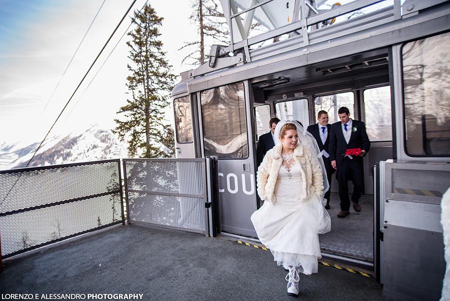 wedding cableway