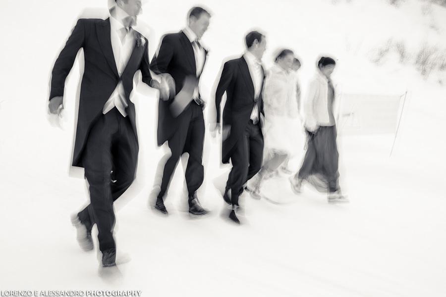 matrimonio sulla neve