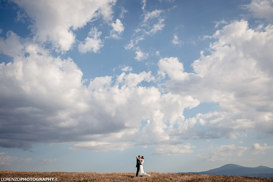 wedding photographer tuscany hills