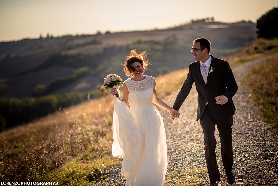 wedding photographer Pienza
