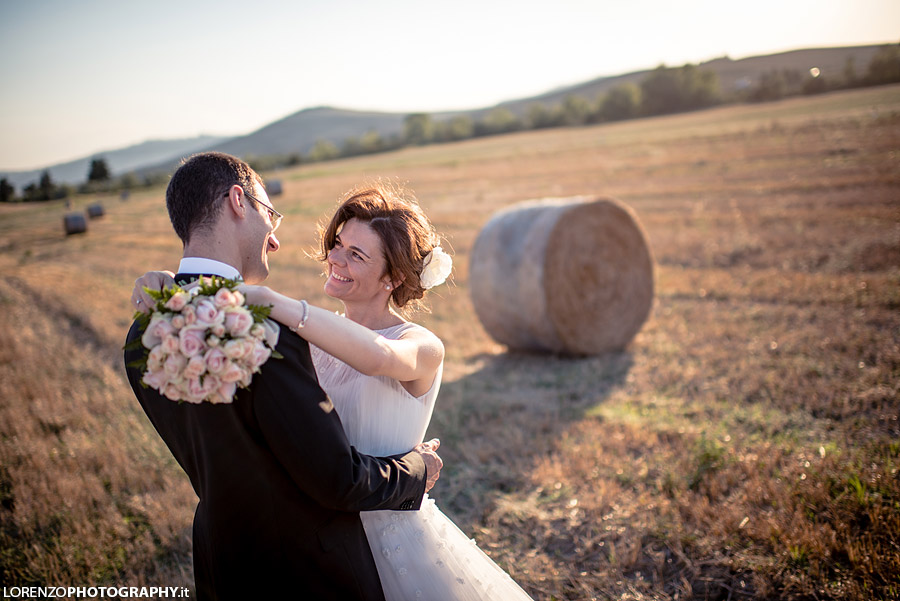 wedding Pienza