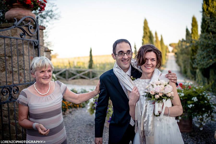 wedding photos Pienza