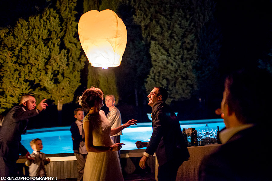 wedding tuscany lantern
