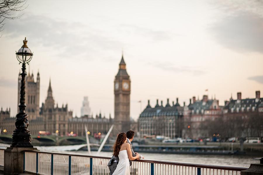 destination wedding photographer London eye